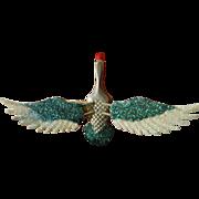 Vintage-trembler Bird pin/clip