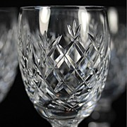 "Waterford ""Donegal"" White Wine Glasses"