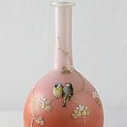 Webb Enameled Vase