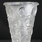 """SOLD Ren© Lalique """"Cancale"""" Vase"""