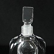 Orrefors Crystal Perfume Bottle