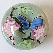 Lundberg Studios Limited Edition Paperweight by David Salazar