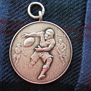 Vintage Rugby Medal from Season 1947-1948