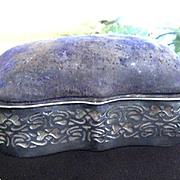 REDUCED: Silver 1903 Art Nouveau Horton & Allday Jewelry Casket
