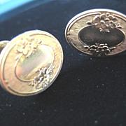 Pretty Vintage Gold Filled Earrings