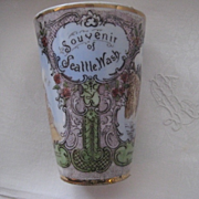 REDUCED REDUCED:  SEATTLE American Indian Historical Souvenir Cup