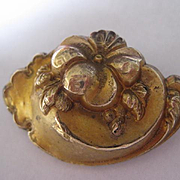Victorian Gold Filled Brooch/Pendant