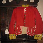 Scottish Gordon Highlanders Jacket and Badge, Early 1900s