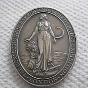 Stunning Large Baker's Award - English Hallmarked Silver