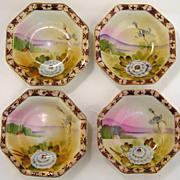 TE-OH Nippon China Bowls-Set of 4
