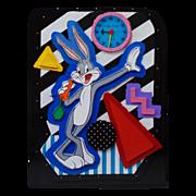 Bugs Bunny Clock by Neil Loeb - Cast Paper