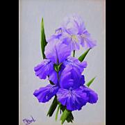 Amethyst Beauties-Original Oil Painting