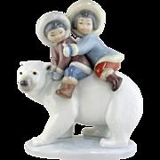 Lladro Figurine - Eskimo Riders #5353