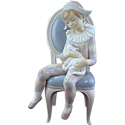 Lladro Figurine, Young Harlequin #1229