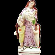 Charity,  Staffordshire Antique Figurine