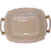 Oblong Gold Trimmed Platter by Lenox