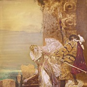 19th Century British Lithograph - Scene From Faust