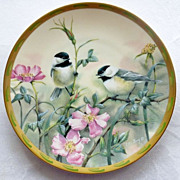 """SOLD LENOX """"Rose Morning"""" Collector Plate - Red Tag Sale Item"""