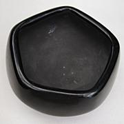 Santa Clara Pueblo Polished Blackware Bowl by Clara Suazo