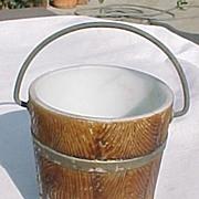 Milk Glass Old Oaken Bucket 1890's Westmoreland Specialty
