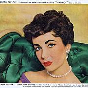 1952 Ad - Lustre-Creme Shampoo - feat. ELIZABETH TAYLOR