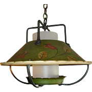 Large Monterey Style Hanging Lantern Pendant Light - 2 available