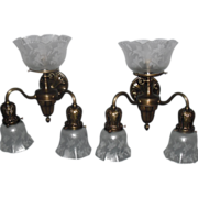 Victorian Gas & Electric Wall Lights / Sconces