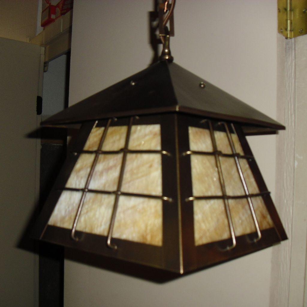 arts and crafts antique lighting. Black Bedroom Furniture Sets. Home Design Ideas