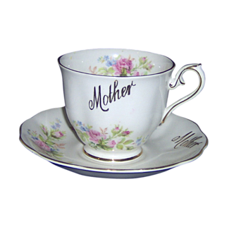 Mother cup and saucer Royal Albert