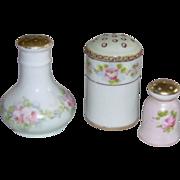 Trio of Salt Shakers