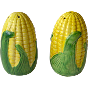 Small Shawnee Corn Salt and Pepper Shakers