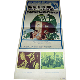 Movie Poster - The Thin Red Line  - 1964
