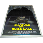 Movie Poster - Creature From Black Lake - 1976