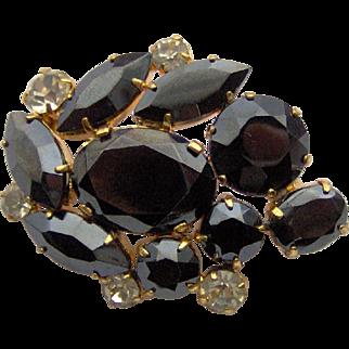 Lovely Black brooch