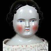 "25"" Kestner China Doll ~ Antique Cloth Body"