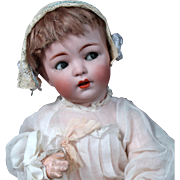 Franz Schmidt 1295 Bisque Character Baby with Flirty Eyes