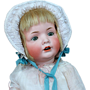 "Large 24"" Character Baby by Bahr & Proschild, 585"