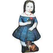 Primitive Cloth Printed Rag Doll