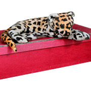 1930's  Leopard with Glass Eyes 14 inch