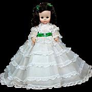 "Madame Alexander 14"" Gone with the Wind Scarlett O'hara Doll"