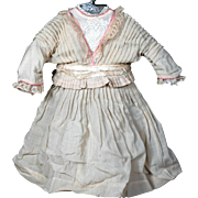 """Antique Dress  for 24"""" French Doll"""
