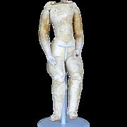 French Fashion Doll Kid Leather Body