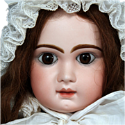 "SOLD 30"" Antique French Tete Jumeau Bebe Doll ~ Size 14"