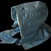 A Victorian Silk Bonnet. Circa 1860.