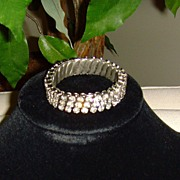 Rhinestone Expandable Bracelet