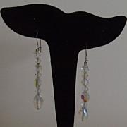 SALE Aurora Boralais Dangle Earrings