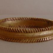 Trifari Vintage Gold-Tone Bracelet