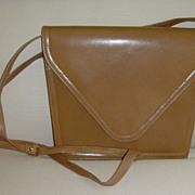 Vintage Leather Clutch/Shoulder Bag