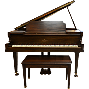 SALE Walnut Baby Grand Piano by Vose & Sons