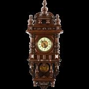 German Victorian Wall Clock